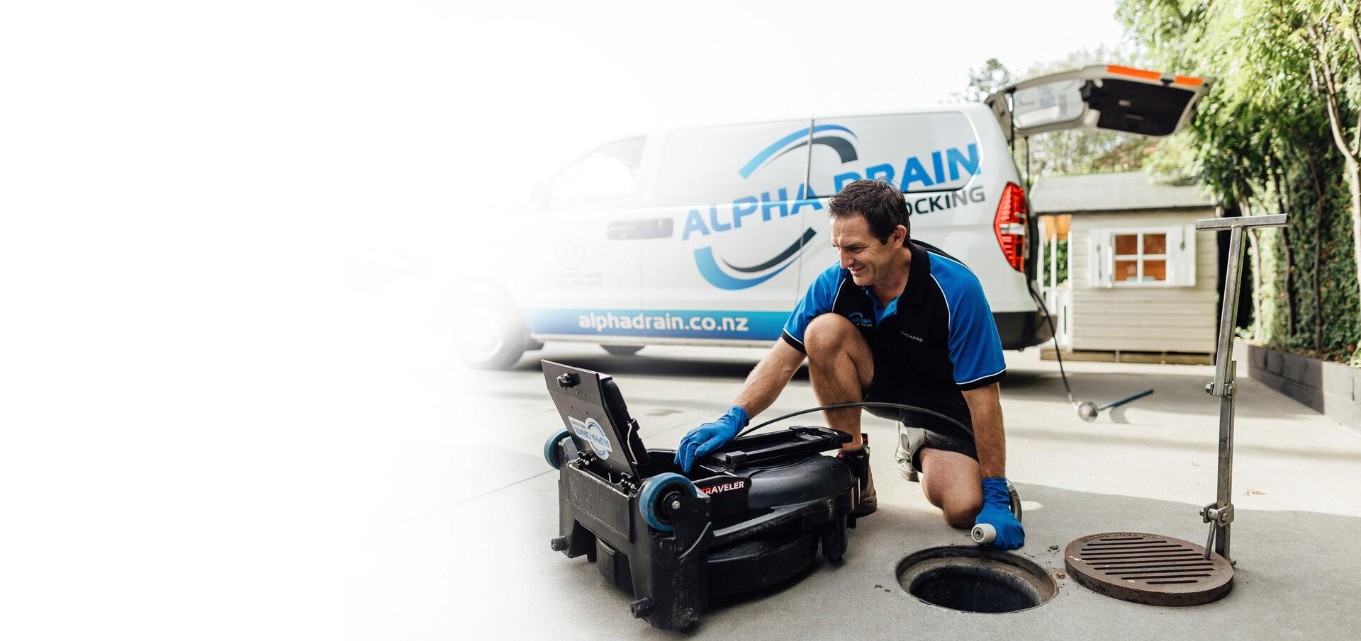 Drain & Sewer Unblocker - Auckland Wide | Alpha Drain Unblocking